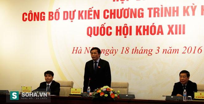 """TTK Quốc hội: """"Là đại biểu QH thì không chỉ có mỗi hát hay..."""""""