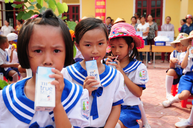 Giải quyết nỗi lo chất lượng sữa học đường - Ảnh 1.