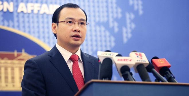 Trao công hàm phản đối tàu hải cảnh TQ đâm chìm tàu cá Việt Nam