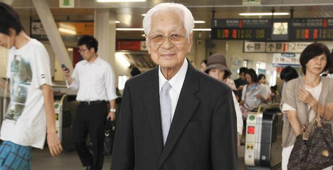 Cụ ông Nhật làm việc tới năm 101 tuổi mới nghỉ hưu