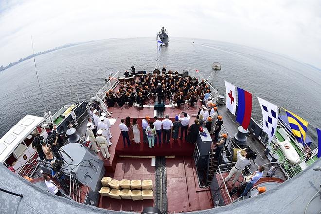 ẢNH+VIDEO: Hoành tráng lễ kỷ niệm Ngày Hải quân Nga - Ảnh 18.