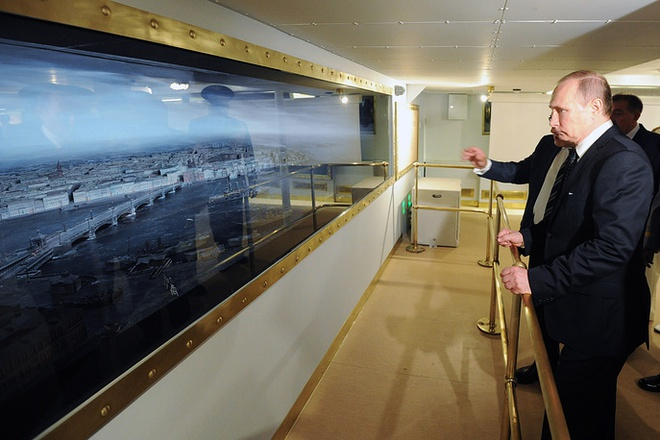 ẢNH+VIDEO: Tổng thống Putin thăm chiến hạm Rạng Đông huyền thoại - Ảnh 5.