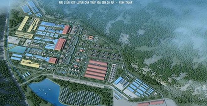 Dự án thép Hoa Sen Cà Ná: Sẽ ngừng ngay nếu không an toàn