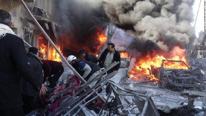 Lệnh ngừng bắn ở Syria chỉ là xác chết biết đi! - Ảnh 1.