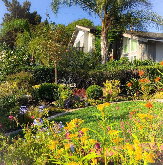 Ngắm ngôi nhà thanh bình và khu vườn đẹp lung linh trên đất Mỹ của MC Nguyễn Cao Kỳ Duyên - Ảnh 1.