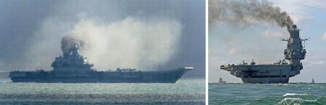 Vì sao tàu sân bay Nga nhả khói đen mù mịt? - Ảnh 1.