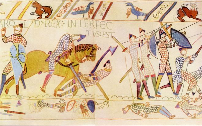 Trận chiến cổ đại thay đổi cách nói tiếng Anh ngày nay - Ảnh 2.