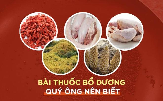 """Bài thuốc """"bổ dương đệ nhất"""" nổi tiếng trong Đông y quý ông muốn """"khỏe"""" cần ăn thử"""