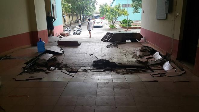 Dân chung cư hốt hoảng vì sàn nhà bất ngờ sập trong đêm - Ảnh 9.