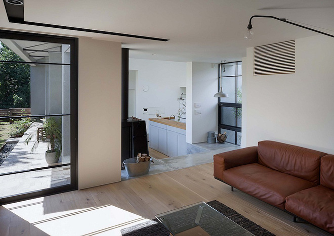 Phong cách hiện đại, gần gũi thiên nhiên của ngôi nhà điển hình ở Nhật Bản - Ảnh 4.