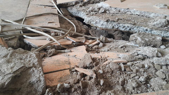 Dân chung cư hốt hoảng vì sàn nhà bất ngờ sập trong đêm - Ảnh 5.