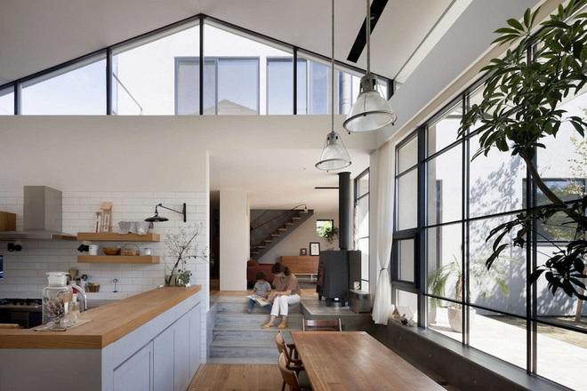 Phong cách hiện đại, gần gũi thiên nhiên của ngôi nhà điển hình ở Nhật Bản - Ảnh 8.