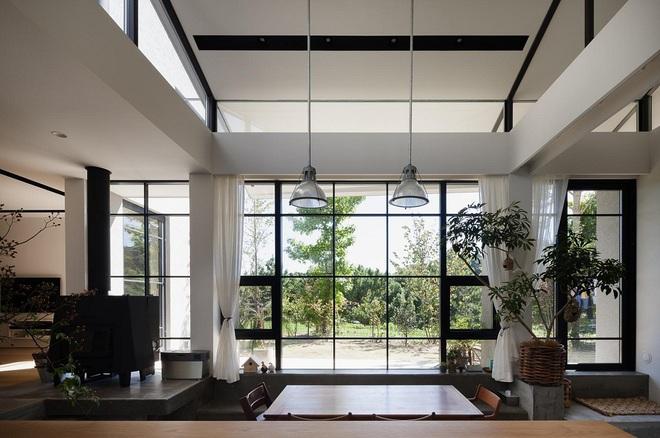 Phong cách hiện đại, gần gũi thiên nhiên của ngôi nhà điển hình ở Nhật Bản - Ảnh 9.