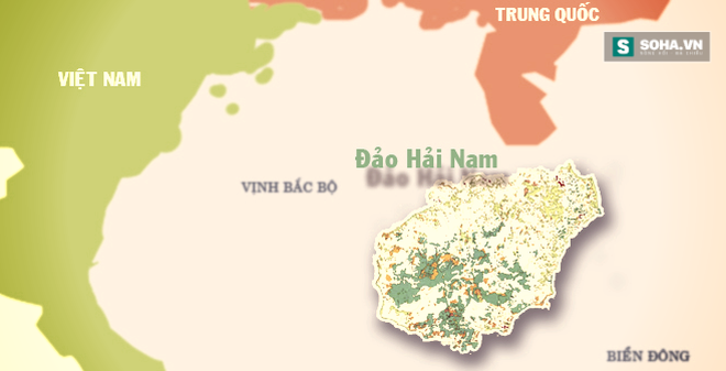 Bằng chứng từ TQ chứng minh đảo Hải Nam vốn tách ra từ Việt Nam