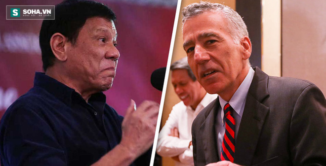 """Chưa quên """"thù cũ"""", Duterte gọi đại sứ Mỹ là """"gã đồng tính"""""""