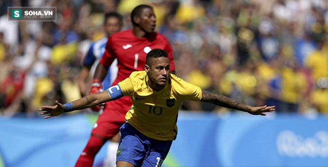 Neymar lập kỉ lục, giấc mơ vàng đã ở rất gần Brazil