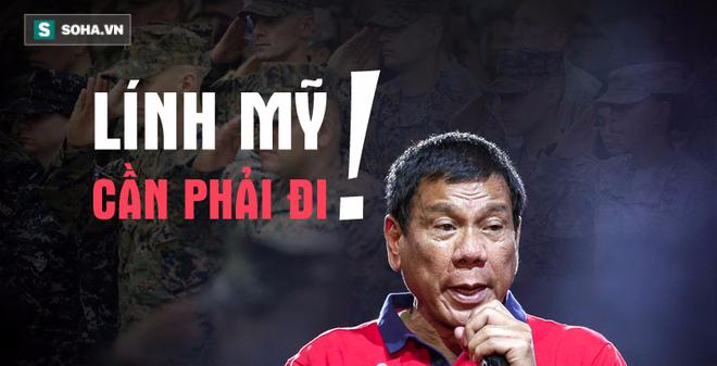 Muốn quân Mỹ rút khỏi Mindanao, Duterte ngầm ám chỉ điều gì?
