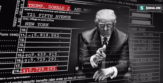 """Tiết lộ hồ sơ thuế của Trump: """"Cú sốc"""" tháng 10 của bầu cử Mỹ 2016"""