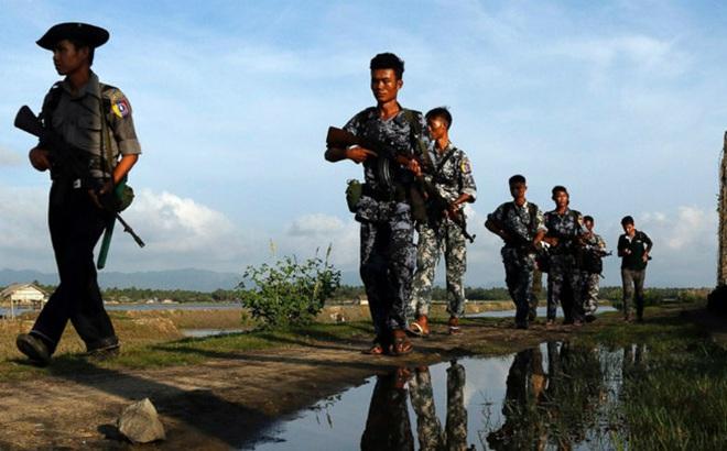 Giao tranh ở bắc Myanmar, bom rơi sang Trung Quốc