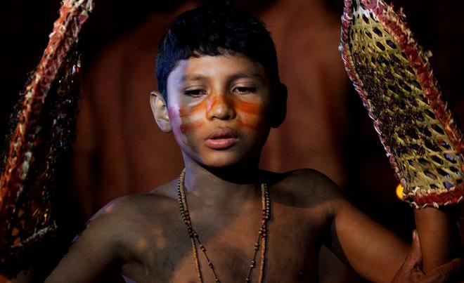 Nổi da gà với nghi thức trưởng thành đau đớn đến rợn người của thổ dân Amazon - Ảnh 2.