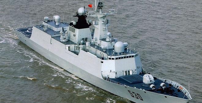Trung Quốc chính thức sử dụng tàu hộ vệ tên lửa thế hệ mới