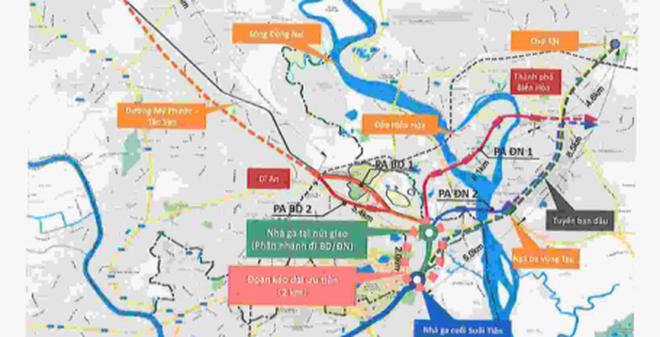 Nhật Bản tài trợ tuyến nối metro số 1 về Bình Dương, Đồng Nai