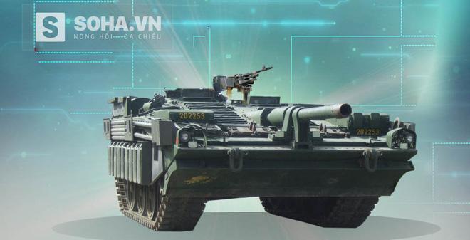 Stridsvagn 103 - Xe tăng không tháp pháo kỳ lạ nhất thế giới