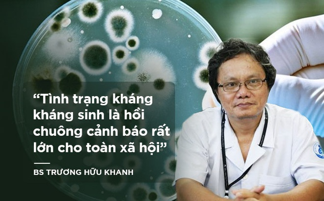 BS Trương Hữu Khanh: Bất lực nhìn bệnh nhân ra đi vì không còn kháng sinh nào chữa được
