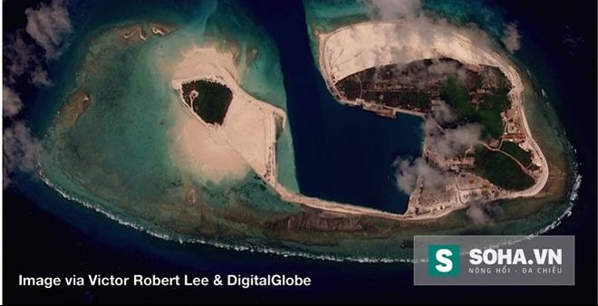 Ảnh vệ tinh vạch trần âm mưu mới của Trung Quốc trên QĐ Hoàng Sa