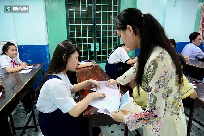 Gần 70.000 học sinh bước vào kỳ thi tuyển lớp 10 ở TP HCM - Ảnh 7.
