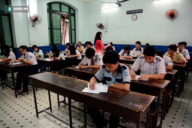 Gần 70.000 học sinh bước vào kỳ thi tuyển lớp 10 ở TP HCM - Ảnh 8.