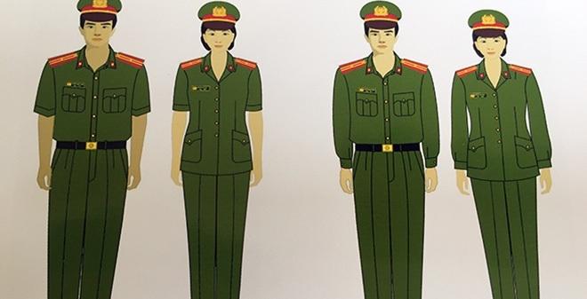 Trang phục mới của Công an nhân dân có điểm gì đặc biệt?