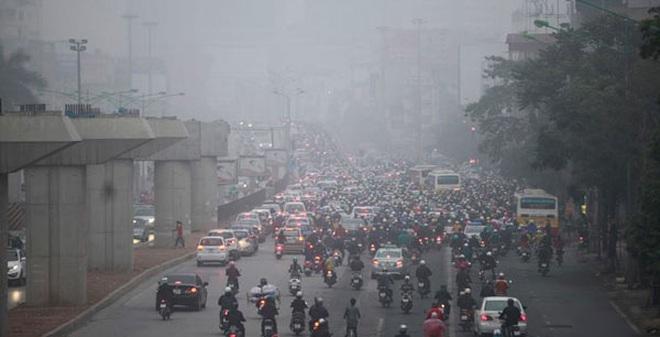 Thủy ngân trong không khí là dạng độc hại nhất