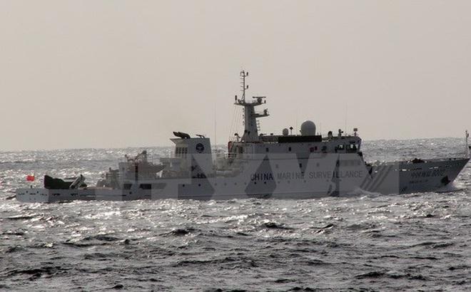 NÓNG: Tàu Hải cảnh Trung Quốc lại đi vào vùng biển Nhật Bản