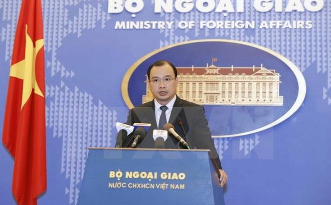 Việt Nam phản đối Đài Loan diễn tập trên biển khu vực Trường Sa