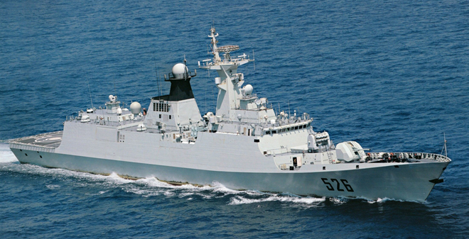 Type 054 Giang Khải I - To xác nhưng kém xa Gepard 3.9 Việt Nam
