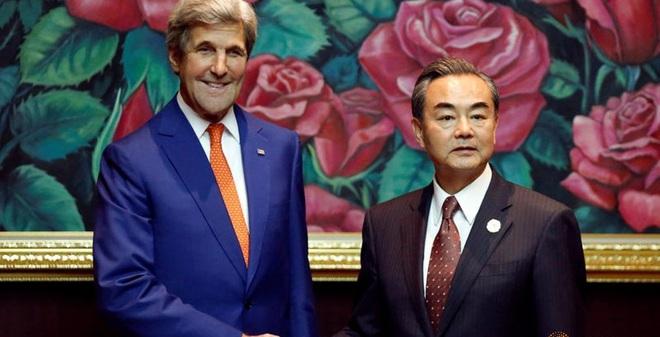 John Kerry: Mỹ ủng hộ TQ-Philippines nối lại đàm phán