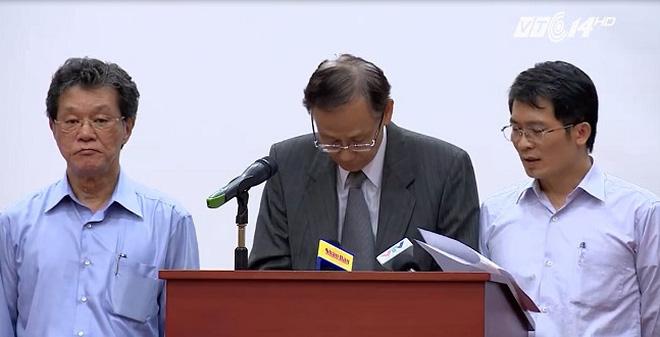Clip: Formosa xin lỗi vì gây ra vụ việc cá chết ở miền Trung