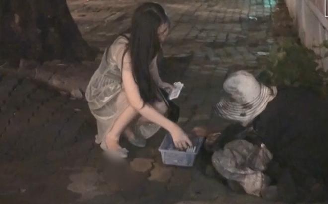 [Video] Thanh niên giả ăn mày, xin tiền chích ma túy ở Sài Gòn