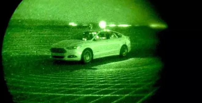 Bạn có sợ bóng tối không? Xe tự lái của Ford thì không đâu nhé