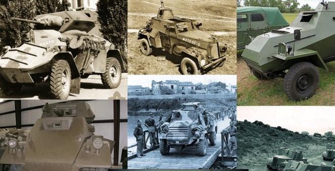 10 xe bọc thép kỳ lạ nhất trong Chiến tranh thế giới thứ 2