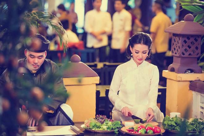 Hoa hậu Quý bà Sương Đặng hóa thân thành thiếu nữ Hà Nội xưa - Ảnh 1.