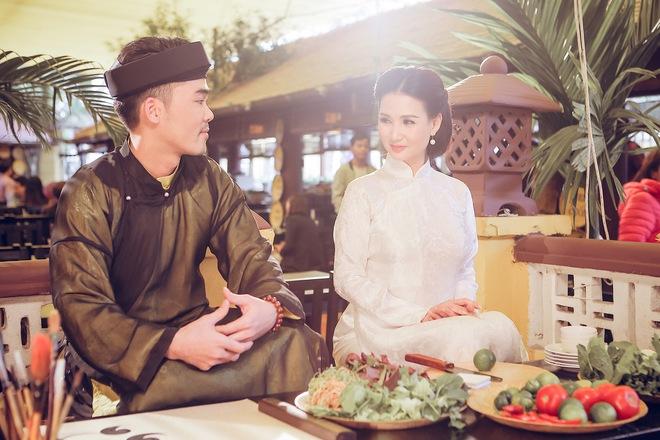 Hoa hậu Quý bà Sương Đặng hóa thân thành thiếu nữ Hà Nội xưa - Ảnh 3.