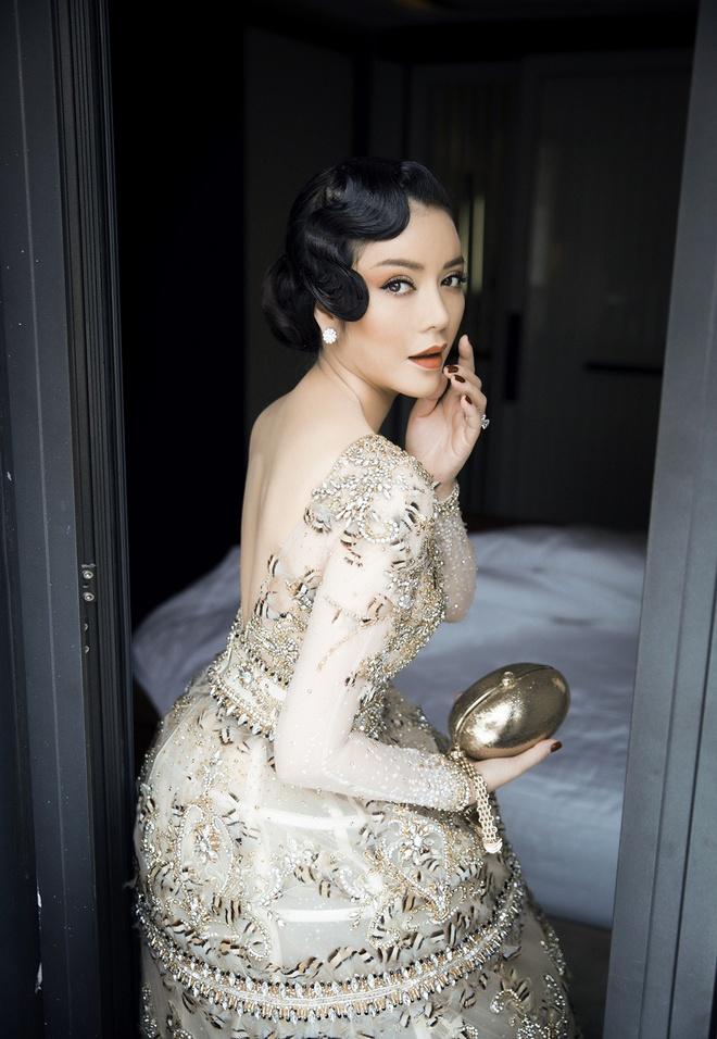 Lý Nhã Kỳ mặc váy tinh xảo, thu hút sự chú ý trên thảm đỏ Cannes - Ảnh 4.