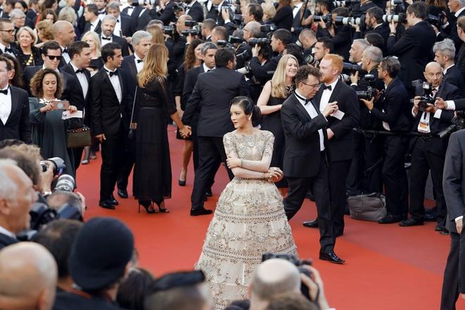 Lý Nhã Kỳ mặc váy tinh xảo, thu hút sự chú ý trên thảm đỏ Cannes - Ảnh 8.