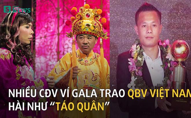 Cười ra nước mắt với Gala QBV Việt Nam 2016