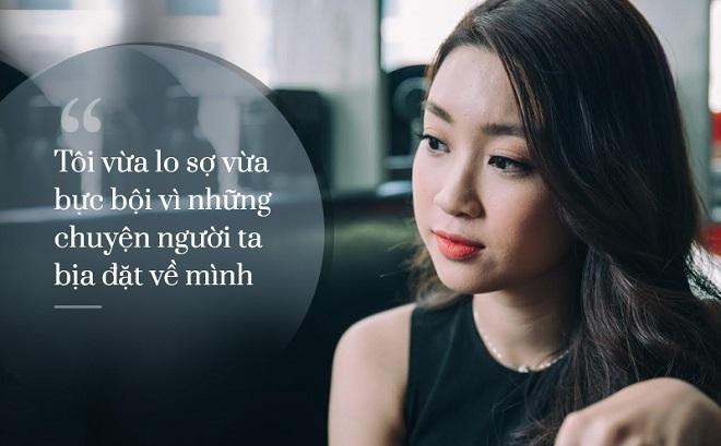 """Hoa hậu Đỗ Mỹ Linh: """"Người ta bịa đặt nhiều chuyện về tôi..."""""""