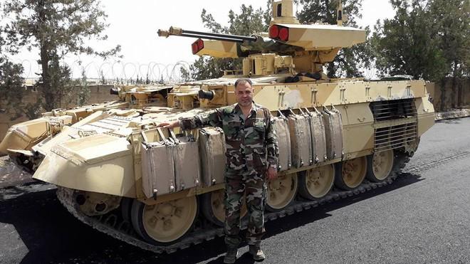 Nga tính toán gì khi đưa phiên bản BMPT lạ tới Syria? - Ảnh 4.