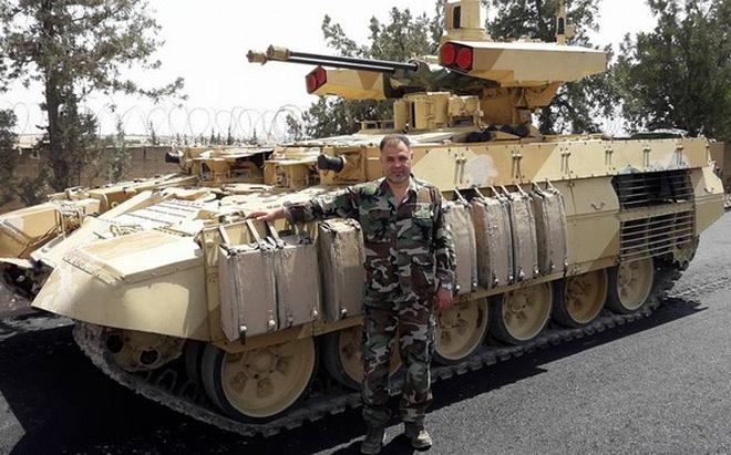 """Nga tính toán gì khi đưa phiên bản BMPT """"lạ"""" tới Syria?"""
