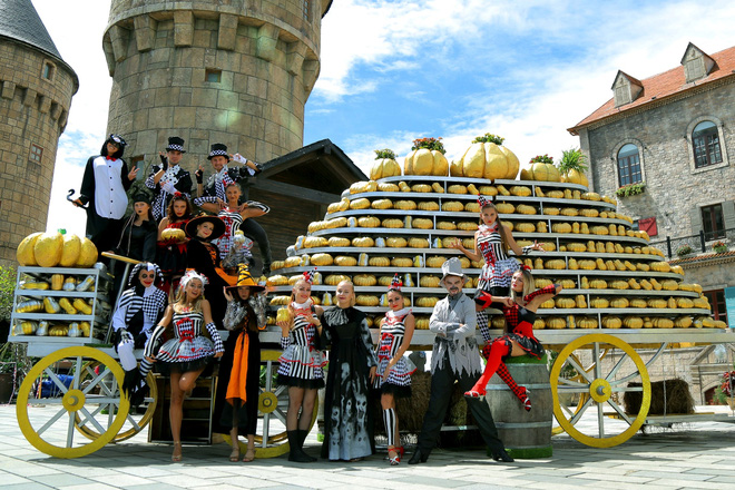 Khám phá Halloween thần tiên ở Sun World Ba Na Hills - Ảnh 1.